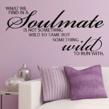 What We Find in a Soulmate~ Wall sticker / decals